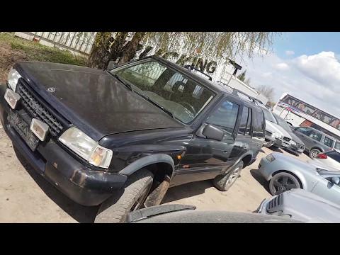 Opel Frontera 1997 m dalys