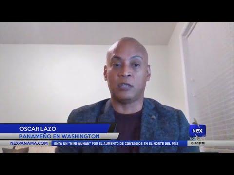 Entrevista a Oscar Lazo, sobre la toma de posesión de Joe Biden