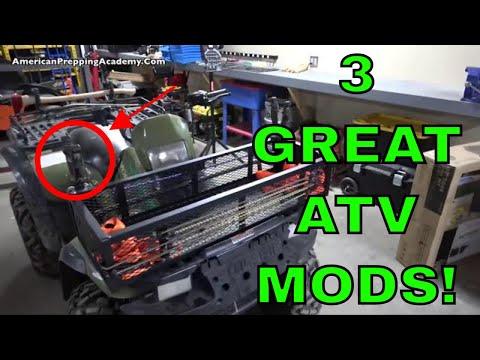 3 Useful ATV Modifications