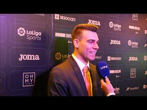 #GalaLNFS30 | Sergio Lozano: Estoy muy feliz de volver a estar en una gala como esta