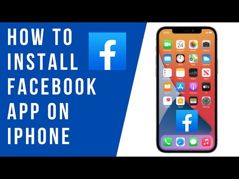 How to Install Facebook App on iPhone (2021)