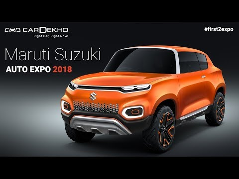 Maruti Suzuki at Auto Expo 2018 | #First2Expo | All The Cars | Pavillion Lineup