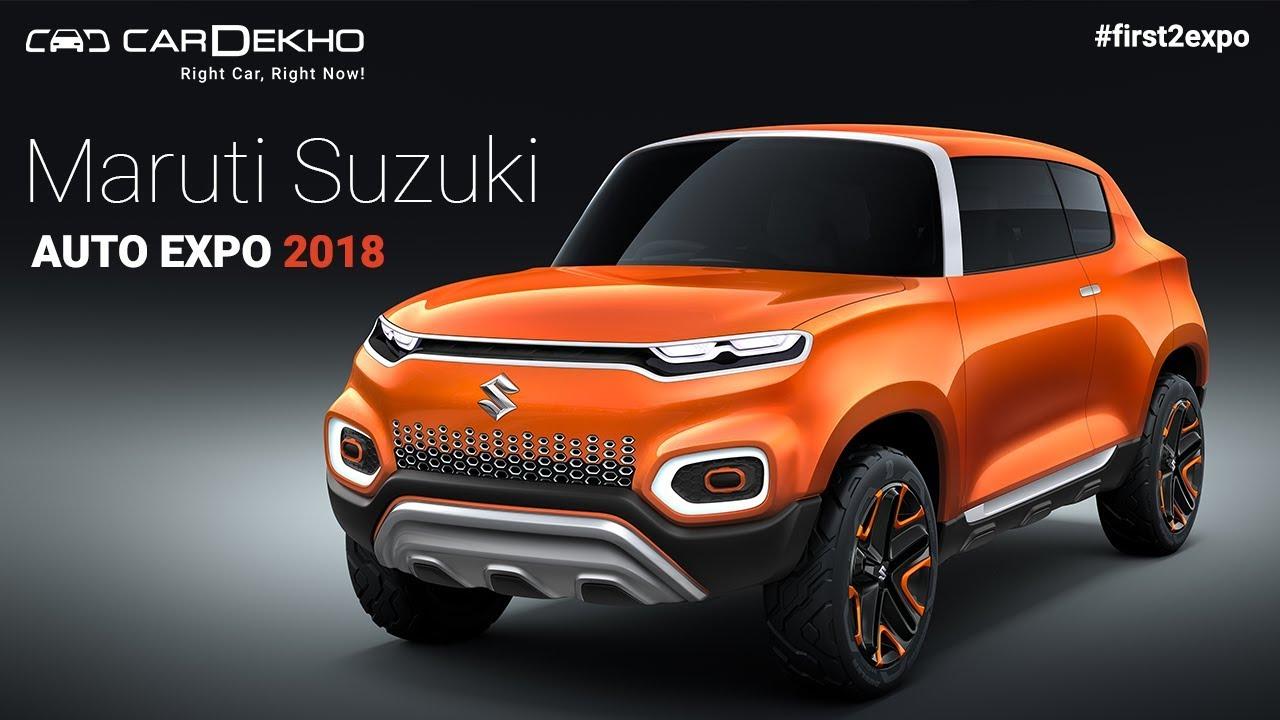Maruti Suzuki at Auto Expo 2018 | #First2Expo | All The Cars | Pavillion Lineup