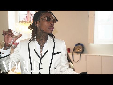 Wiz Khalifa Shares His Pre-Met Gala Secret | Met Gala 2017
