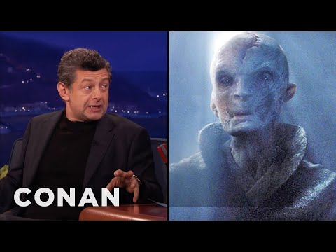 connectYoutube - Andy Serkis: Supreme Leader Snoke Is Motivated By Fear  - CONAN on TBS