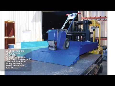 Loading Platforms for Fork Truck FTLP-5454