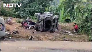Videos Show Battlefield-Like Scenes On Assam-Mizoram Border - NDTV