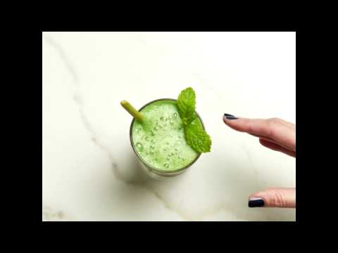 "joules.com & Joules Voucher Code video: Joules ""Green Machine"" Smoothie Recipe"