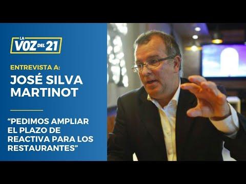 """José Silva Martinot: """"Pedimos ampliar el plazo de Reactiva para los restaurantes"""""""