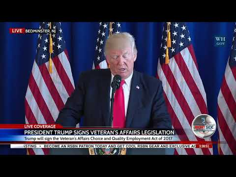 """President Trump's FULL Statement on Charlottesville, VA """"Unite the Right"""" Rally and Protests 8/12/17"""