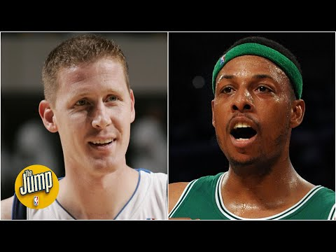 Paul Pierce reminisces about dunking on Shawn Bradley | The Jump