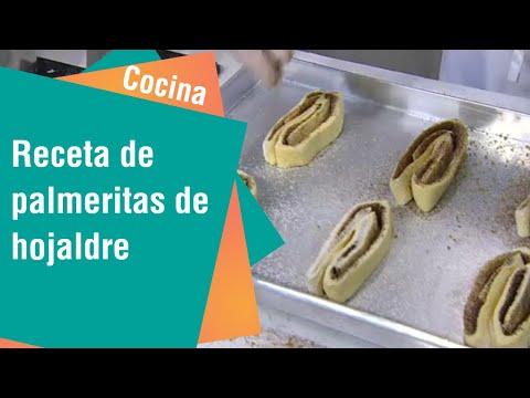 Receta de palmeritas de hojaldre | Cocina