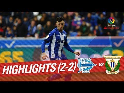 Resumen de Deportivo Alavés vs CD Leganés (2-2)