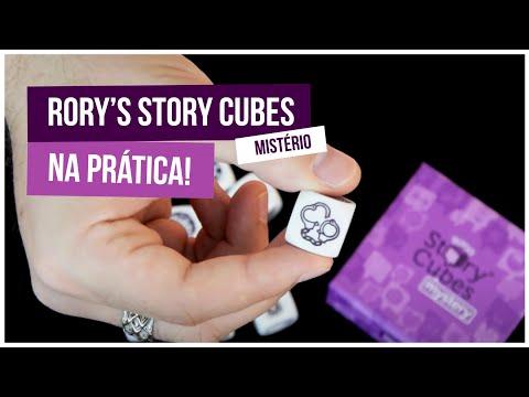 Story Cubes: Mistério, na prática! - Galápagos Jogos