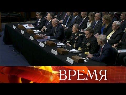 США пригрозили введением новых санкций в отношении России, Китая и Ирана. photo