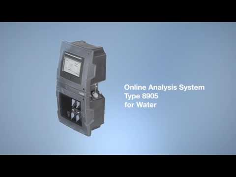 Online Analysis System Type 8905 for Water (EN)