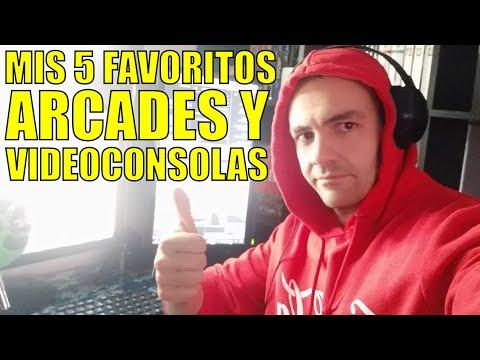 Mis 5 Videojuegos arcade y de Consolas FAVORITOS - Luciano OnFire