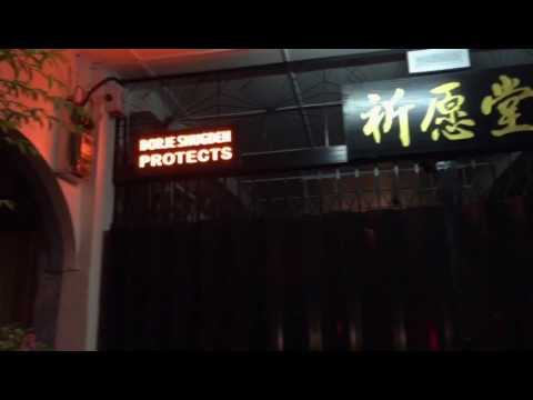 Super neat signboard in Bentong, Malaysia
