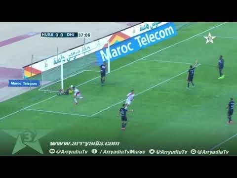 حسنية أكادير 1-0 الدفاع الحسني الجديدي هدف كريم البركاوي