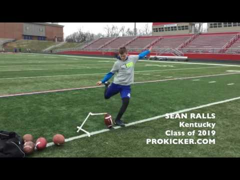 Sean Ralls, Ray Guy Prokicker.com, Kicker Punter, Class of 2019