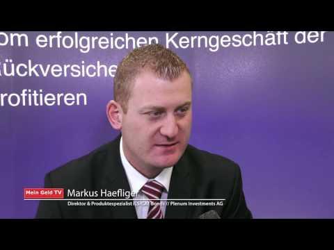 """Plenum Investments AG: Markus Haefliger zum Thema """"Versicherungsabhängige Anlagen"""""""