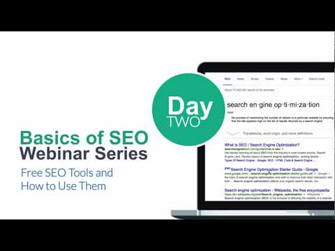 SEO Week Day Two: Free SEO Tools and How to Use Them