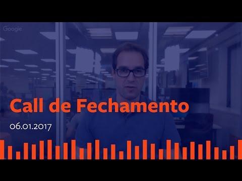 Call de Fechamento  - 06 de Janeiro de 2017.