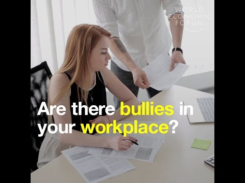 Are there bullies in your workplace