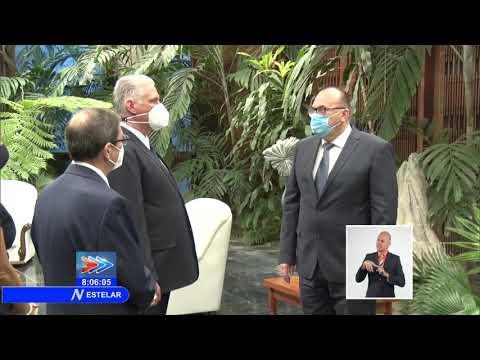Recibe Presidente de Cuba cartas credenciales de once nuevos embajadores