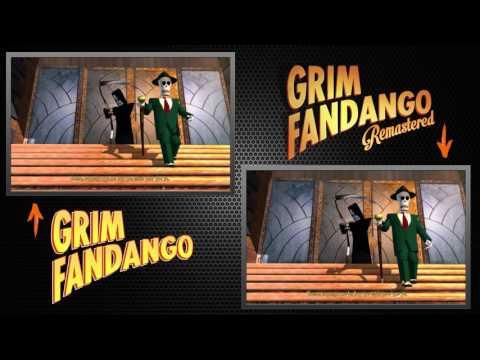 Grim Fandango - Remastered VS Original - Primeros Minutos - Double Fine - Remastered - PC