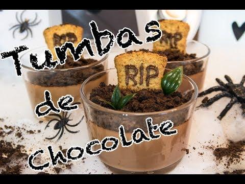 TUMBAS DE CHOCOLATE THERMOMIX ESPECIAL HALLOWEEN