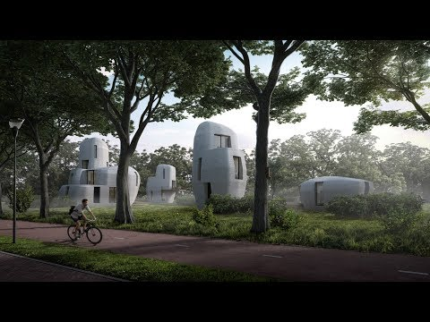 "Eindhoven to build ""world?s first"" 3D-printed houses that people can live inside"