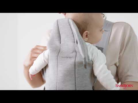 BABYBJÖRN - How to use the facing-in position for baby on Baby Carrier Mini
