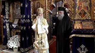 Arhim. Melchisedec Velnic la 25 de ani de staretie la Manastirea Putna