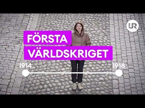 Snabbkoll på historien - Första världskriget | Historia | Grundskola år 7 - 9