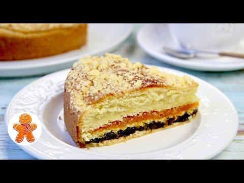 Татарский Трехслойный Пирог к Чаю ✧ Пирог с Тремя Начинками