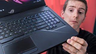 Strix SCAR Edition Laptop – Carbon Fiber??