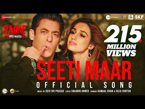 Seeti Maar | Radhe - Your Most Wanted Bhai | Salman Khan, Disha Patani|Kamaal K, Iulia V|DSP|Shabbir