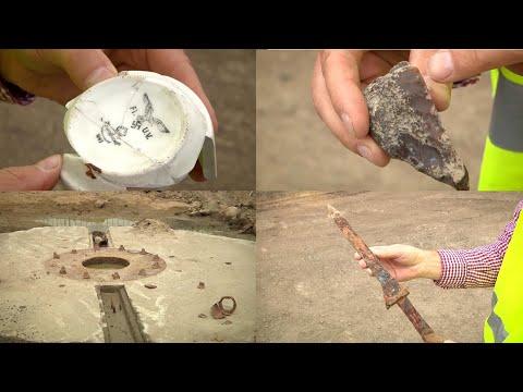 Budowie obwodnicy w Gliwicach towarzyszą kolejne odkrycia archeologów