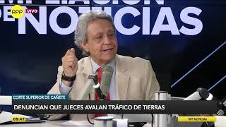 Cañete: denuncian que jueces avalan tráfico de tierras