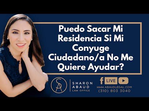 🔴 Puedo Sacar Mi Residencia Si Mi Conyuge Ciudadano/a No Me Quiere Ayudar?