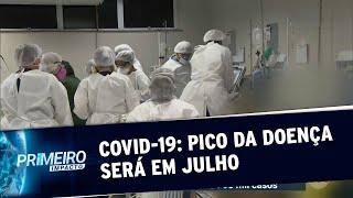Estudo aponta que o pico de Covid-19 no Brasil será em julho | Primeiro Impacto (02/06/20)