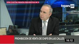 Osiptel: venta de chips en vía pública tendrá multa de hasta 350 UIT