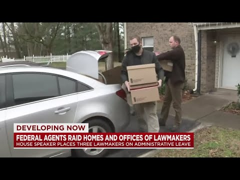 Federal agents raid TN lawmakers offices and homes