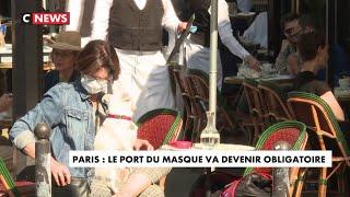 Paris : le port du masque va devenir obligatoire