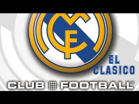 Club Football: Real Madrid (2003) - PlayStation 2 - El Clásico