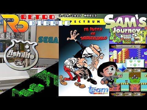RetroDiario Noticias Retro (02/10/2017) #0012 - Sega Fish Life, En busca de Mortadelo, Sam's Journey