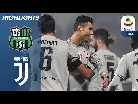 أهداف مباراة ساسولو 0-3 جوفنتوس - البطولة الايطالية