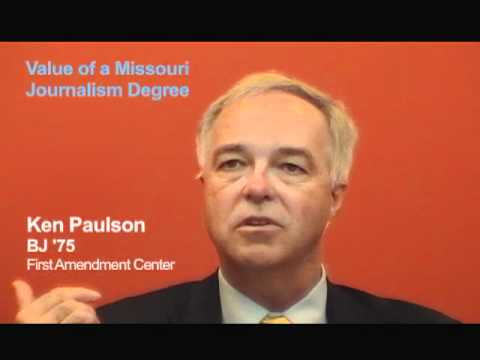 Ken Paulson, BJ '75: What the J-School Means to Me
