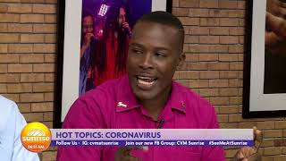 What Else Jamaicans Need To Know About The Coronavirus  | Sunrise: Hot Topics  | CVMTV